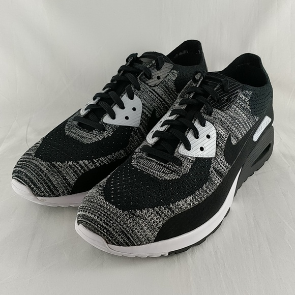 huge selection of 4387d 99891 Nike W Air Max 90 Ultra 2.0 Flyknit Black White
